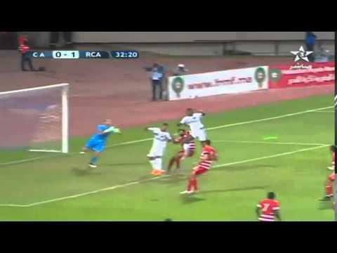 الرجاء والنادي الافريقي : 2-0