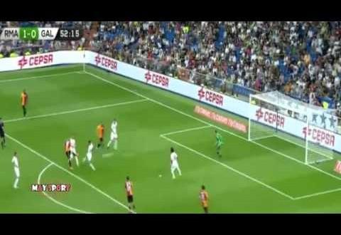 أهداف ريال مدريد- غالطة سراي : 2-1