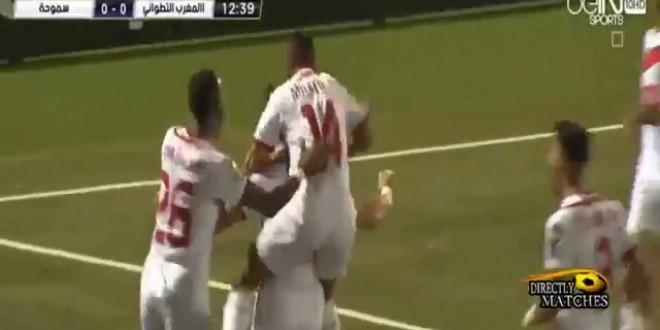 أهداف مباراة المغرب التطواني وسموحة 2-1