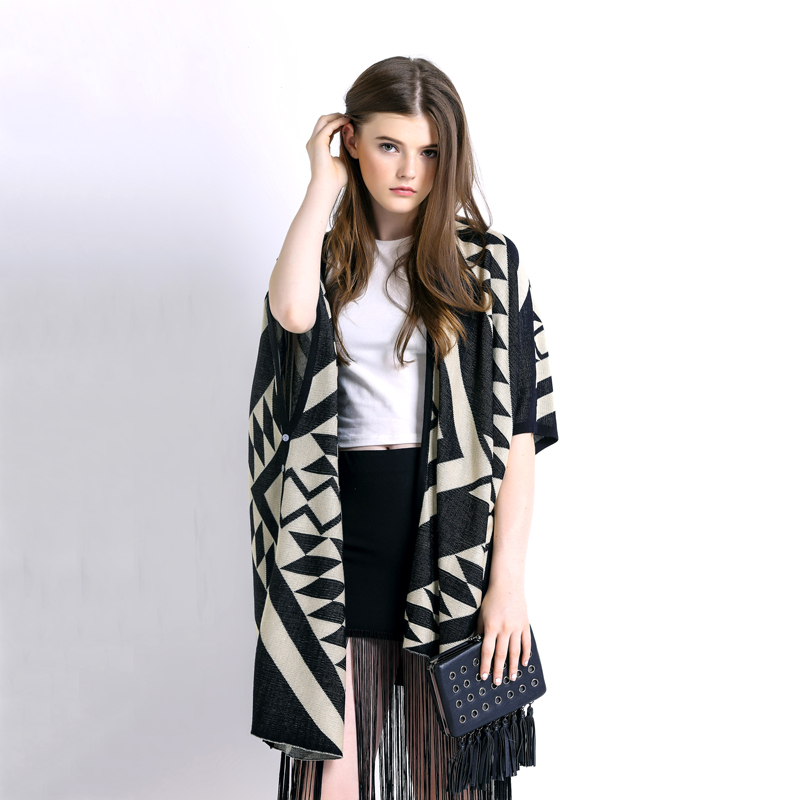 2015-autumn-new-kimono-style-geometric-pattern-knitted-cardigan-womens-fashion-oversized-wool-poncho-winter-women (1)