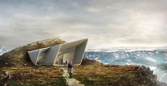 متحف إيطالى على قمة جبل ارتفاعه 7.500 قدم