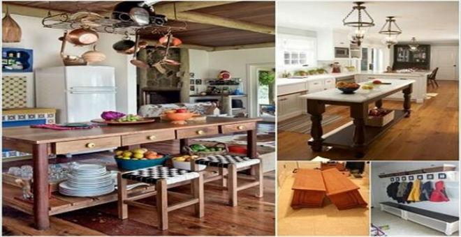 10 أفكار لإعادة استخدام الأثاث القديم في المنزل
