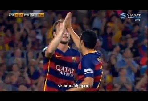 برشلونة-روما : 3-0