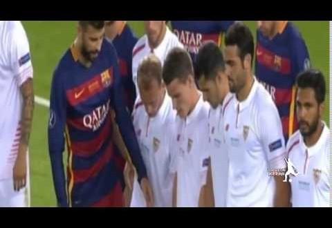 أهداف الشوط الأول برشلونة واشبيلية : 3#1