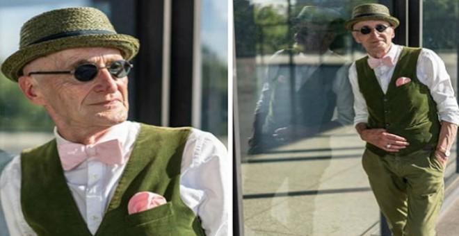 ألماني عمره 104 عام أكثر الرجال أناقة