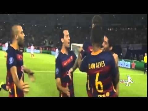 أهداف نهائي السوبر برشلونة و اشبيلية 5-4