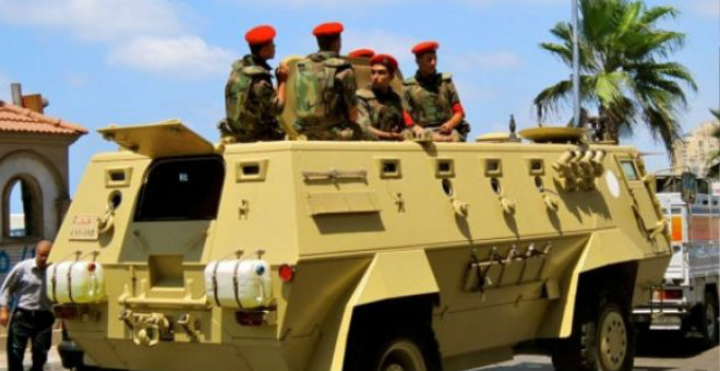 مقتل 12 من عناصر تنظيم الدولة في شمال سيناء المصرية