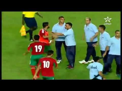 اعتداء الأمن التونسي على لاعبي المنتخب الاولمبي