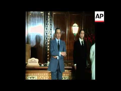 فيديو نادر.. الحكومة تؤدي القسم للراحل الحسن الثاني