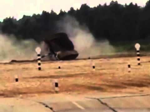 فيديو..دبابة كويتية تنقلب خلال بطولة العالم لبياتلون الدبابات بروسيا