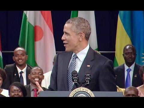 مواطنة موريتانية توجه سؤالا مباشرا لأوباما