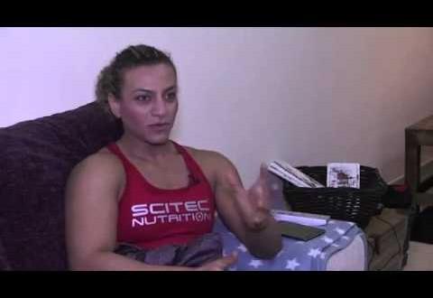 فتاة لبنانية بقوة جسمانية هائلة