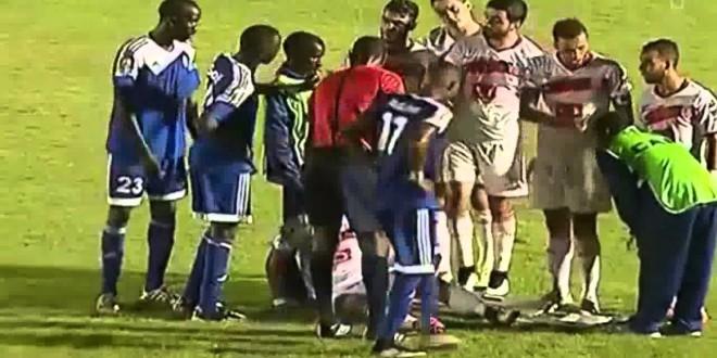 من طرائف مباراة المغرب التطواني والهلال السوداني