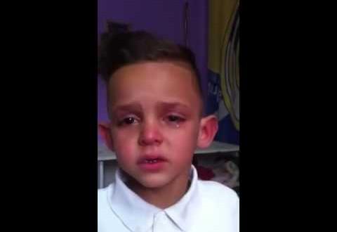 طفل يبكى بحرقة ويطلب الزواج من نجوى كرم