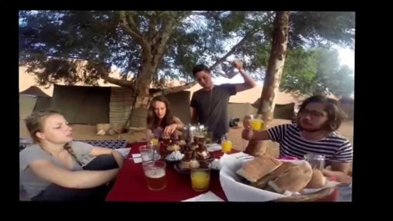 شاب أجنبي ينشر أروع لحظات زيارته المغرب