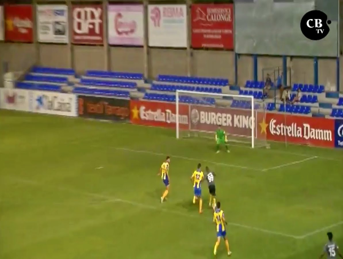 هدف رائع لياجور في مباراة فريقه القطري أمام بالاموس الاسباني
