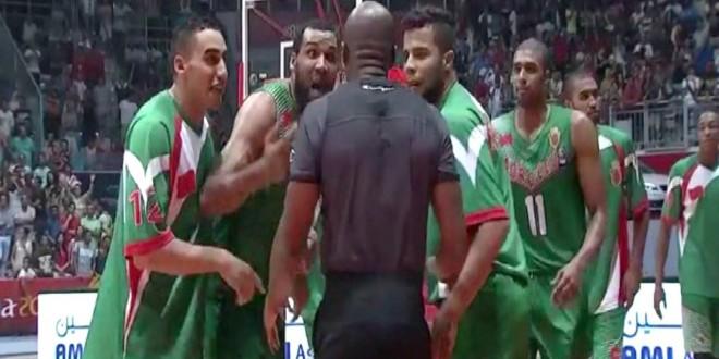 شاهد كيف حرم المغرب من التأهل إلى ربع نهائي بطولة إفريقيا لكرة السلة