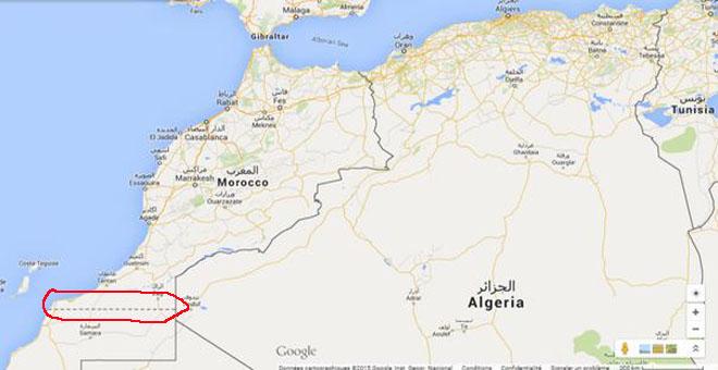 نشطاء مغاربة يطلقون عريضة للمطالبة بتصحيح خريطة المغرب على