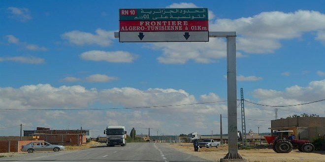 Frontieres Algerie Tunisie