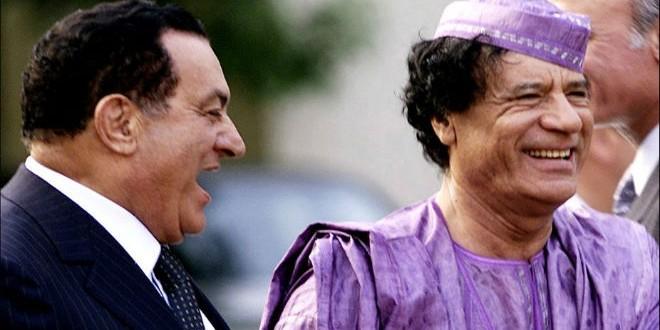 Ghaddafi & Mubarak