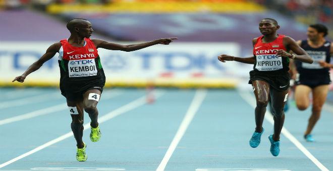 عداءو كينيا يحصدون ميداليات 3000 متر موانع