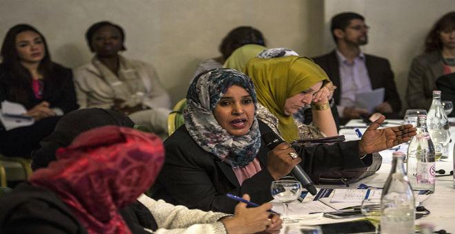 النساء الليبيات يجتمعن في تونس في إطار الحوار السياسي