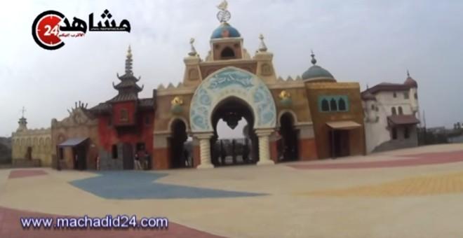 اكتشفوا مع ''مشاهد24'' حديقة سندباد قبل افتتاحها
