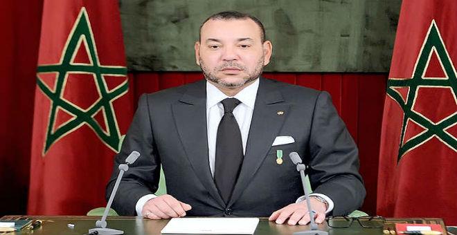 الملك محمد السادس يؤكد على أولوية ضمان أمن المغاربة