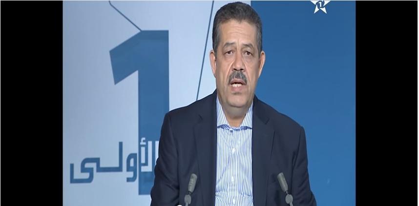 حميد شباط يقدم برنامج حزبه في التلفزيون