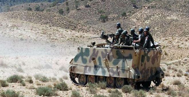 وحدات الجيش التونسي تلاحق الإرهابيين في جبال القصرين