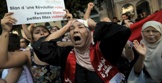 تقرير: تراجع طفيف في الحركات الاحتجاجية بتونس