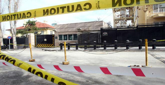 تنظيم يساري متطرف يتبنى الهجوم على القنصلية الأمريكية بإسطنبول