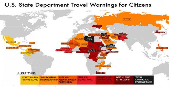 واشنطن تحذر رعاياها من السفر إلى الجزائر