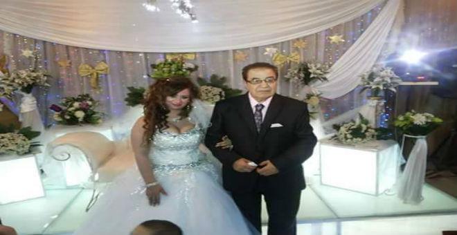 زواج سعيد طرابيك من فنانة شابة يثير جدلا في مصر