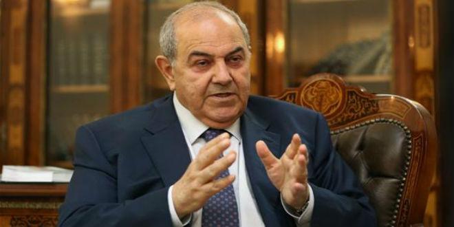 علاوي: إيران تصادر حقوق العراقيين بغطاء أمريكي