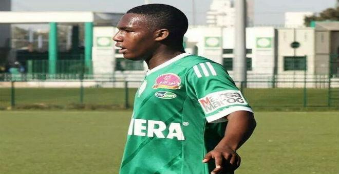 الرجاء يتعاقد مع اللاعب الشاب أنس سوداني
