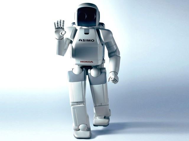 فيديو. روبوت