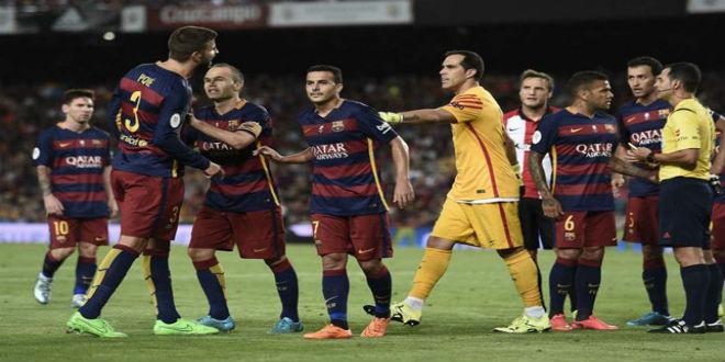 أسباب خسارة برشلونة في السوبر الاسباني