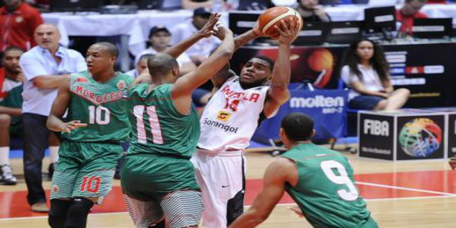 منتخب كرة السلة يخسر أمام أنغولا في بطولة إفريقيا