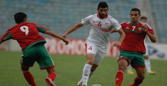 الأولمبي التونسي يقصي المنتخب المغربي