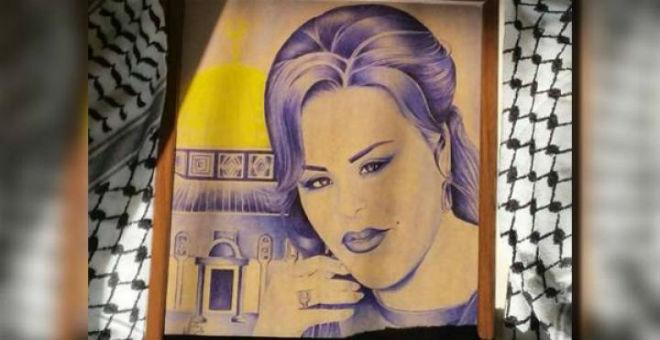 لوحة أحلام داخل سجون إسرائيل!!