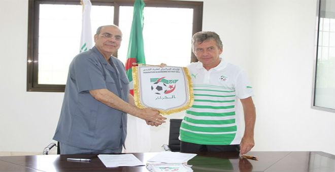 غوركوف يجتمع مع روراوة لترتيب تربص المنتخب الجزائري