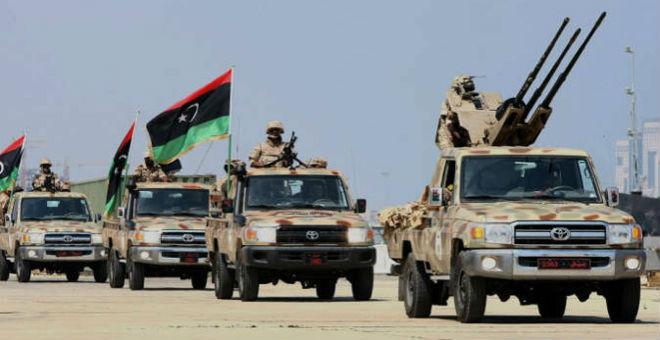 قوات حفتر تعلن سيطرتها على غالبية مناطق الغرب الليبي