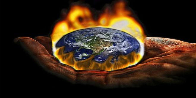 الاحتباس الحراري يؤثر على تغير درجات الحرارة