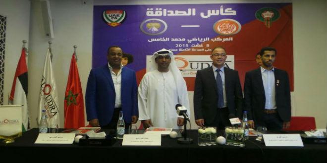 لقجع : نسعى نحو التعاون بين الجامعة والاتحاد الإماراتي