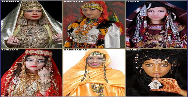 تعرفوا على الزي الأمازيغي في بلدان المغرب الكبير!!
