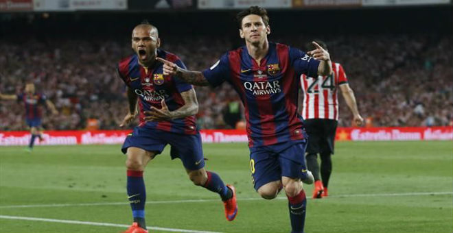 هاتريك ميسي يقود برشلونة لنصر كاسح ضد فايكانو