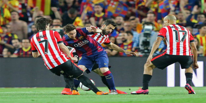 برشلونة يفقد لقب السوبر الاسباني أمام بيلباو