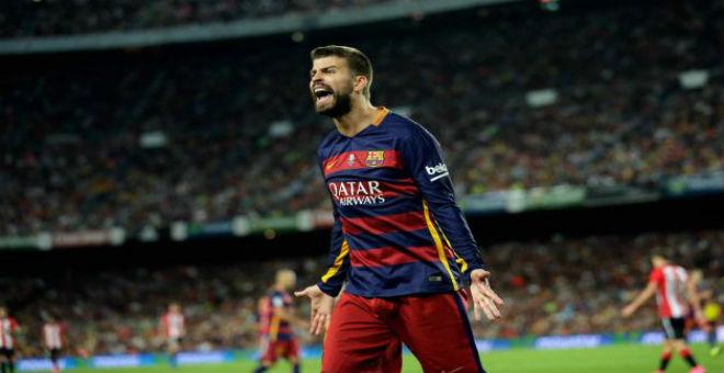 توقيف مدافع برشلونة بيكي أربع مباريات
