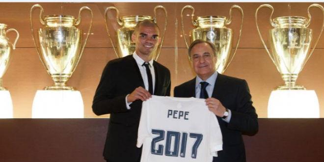 بيبي يجدد عقده مع ريال مدريد حتى 2017